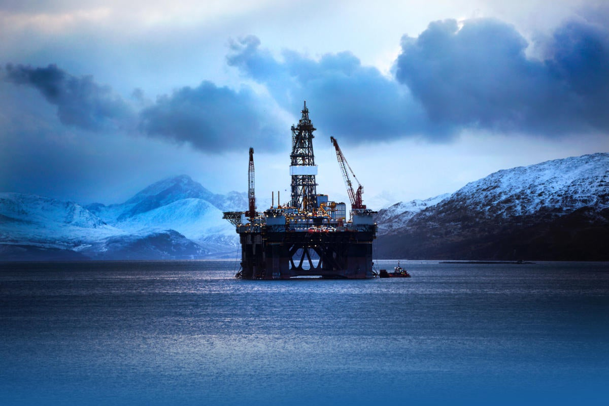 oil rig alaska oil production industrial internet of things drilling construction by elgol getty