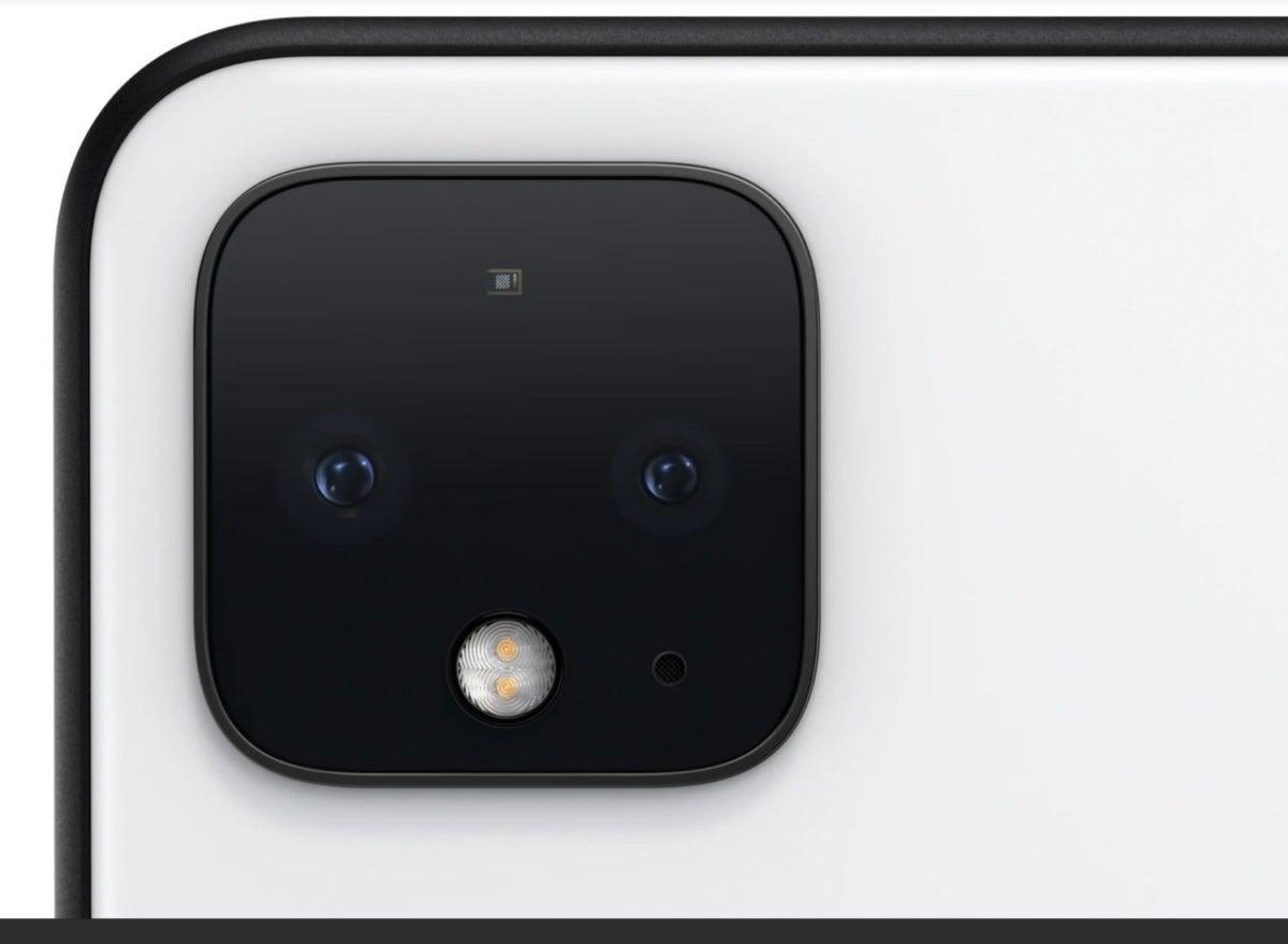 pixel 4 camera close up