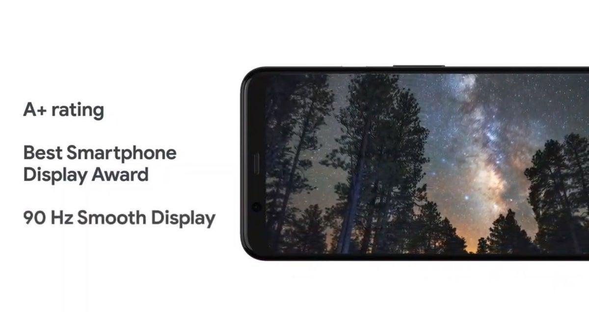 pixel 4 screen