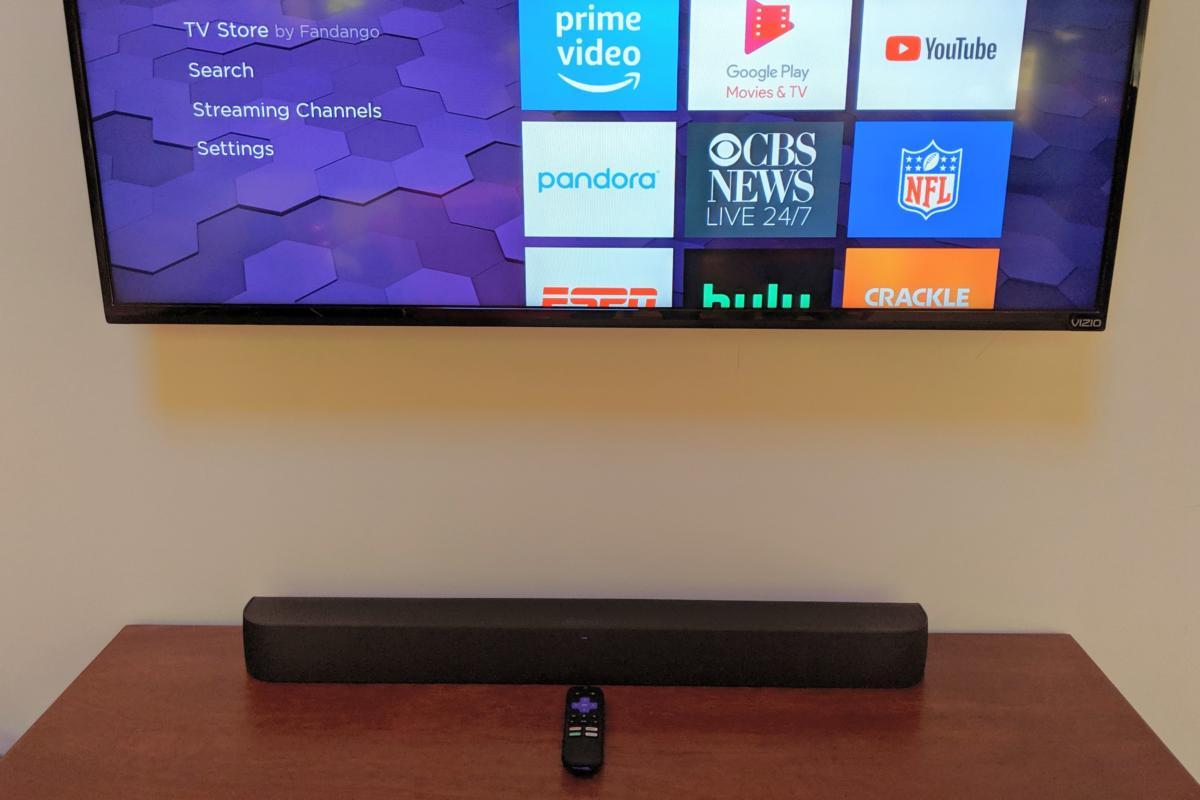 Roku Smart Soundbar Review Easy Controls Make A Big Difference Techhive
