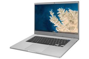 samsung chromebook 4 3qtr platinum titan