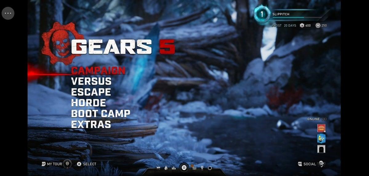 Project xCloud Gears 5 screenshot