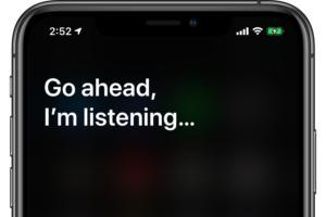 siri ios13 listening