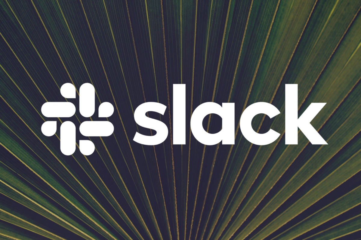 slack logo palm leaves by slack and tim mossholder cc0 via pexels