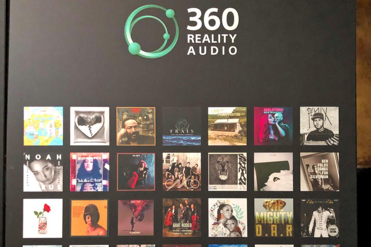Audio reality ソニー 360
