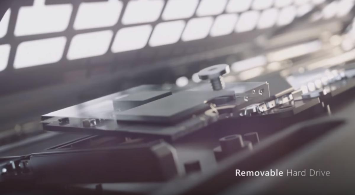 surface laptop 3 removeable hard drive