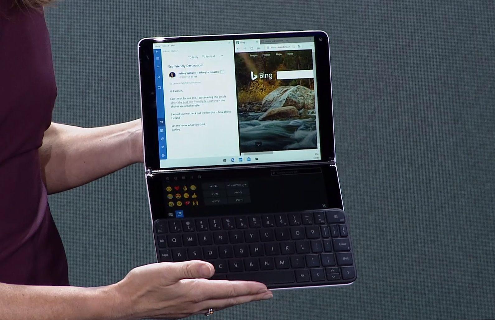 meet windows 10x  a  u0026 39 new expression u0026 39  designed for dual