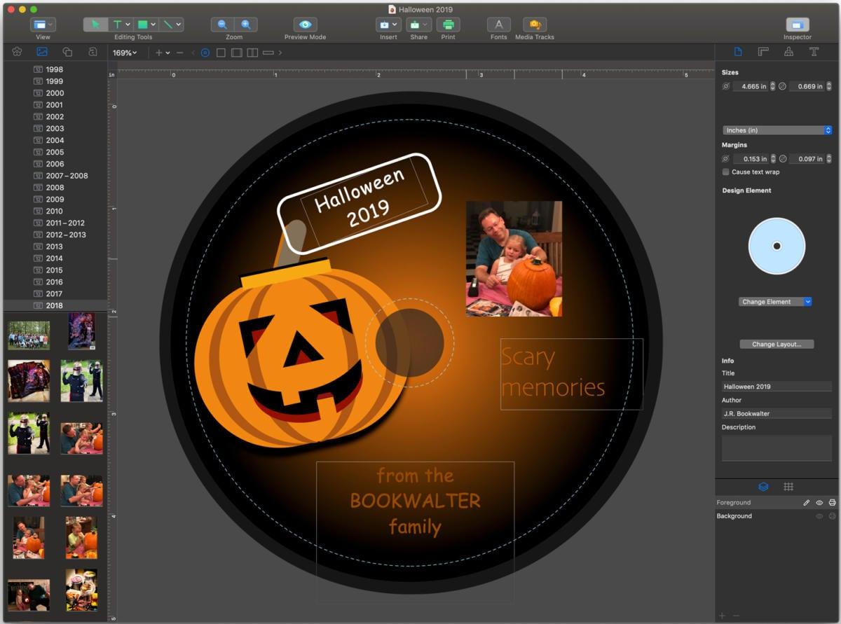 swift publisher 5.5 disc design