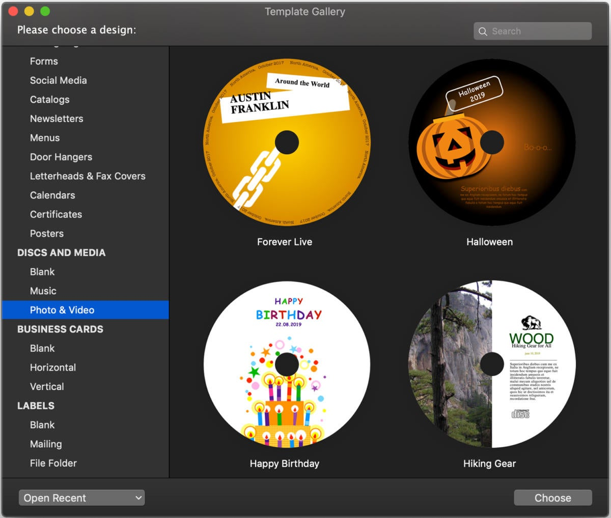 swift publisher 5.5 template gallery disc