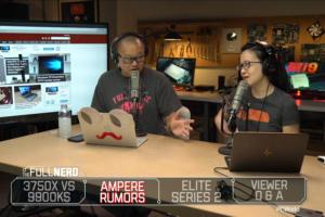 The Full Nerd ep. 111: Ryzen 7 3750X leak, Microsoft Elite Series 2, wait for Nvidia Ampere?