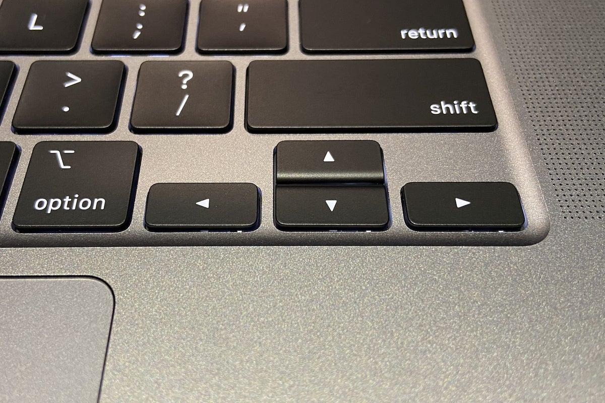 16in macbook pro arrow keys