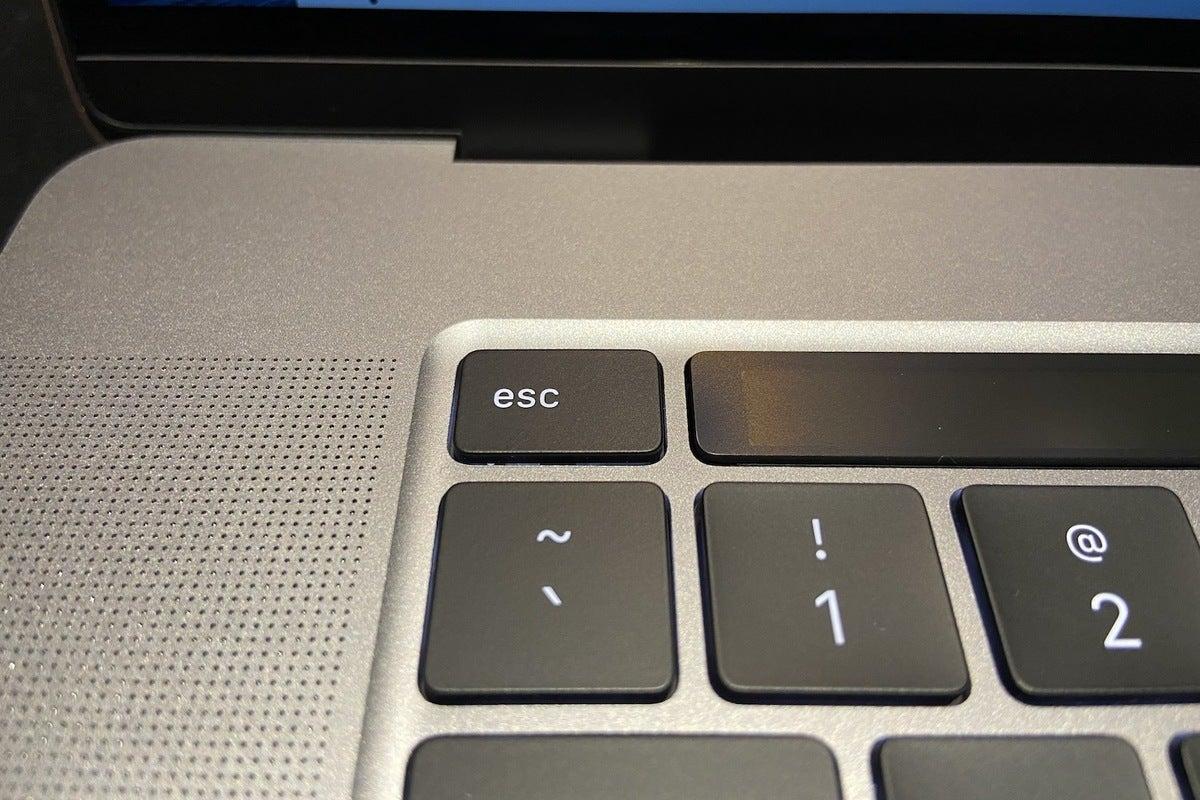 16in macbook pro esc key
