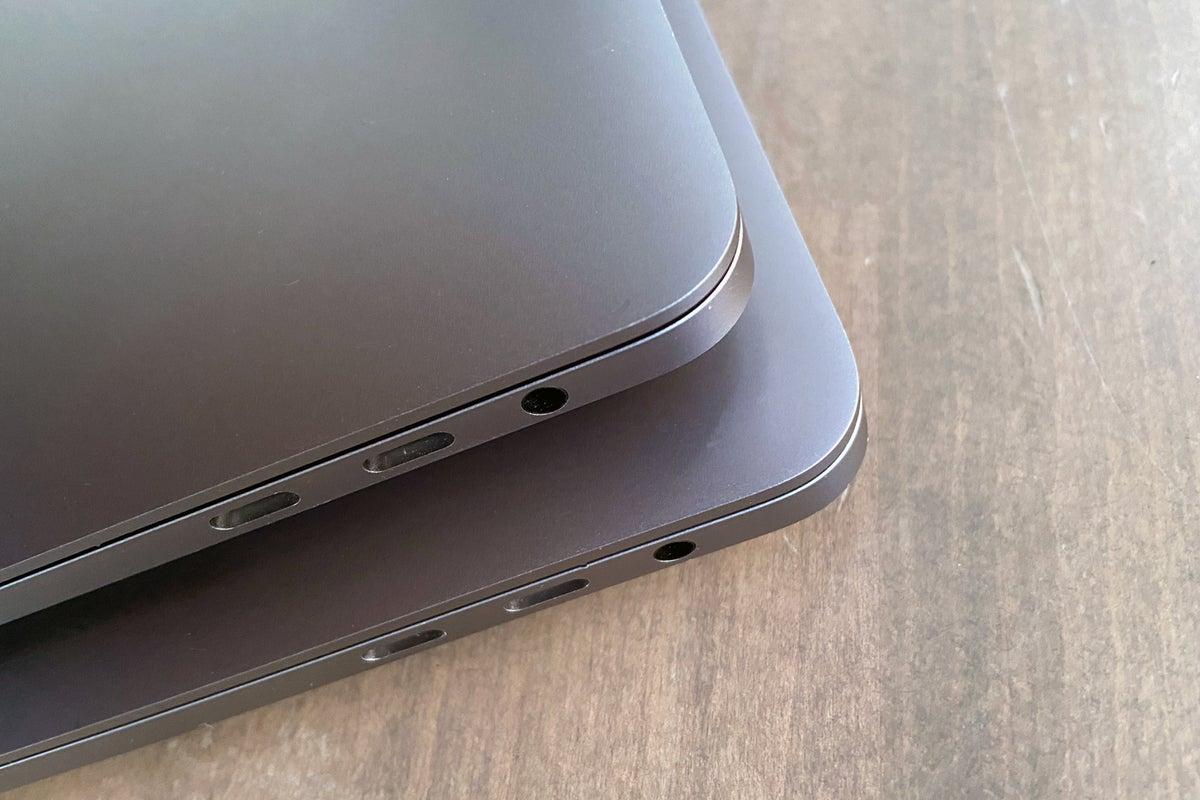 16in macbook pro size compare