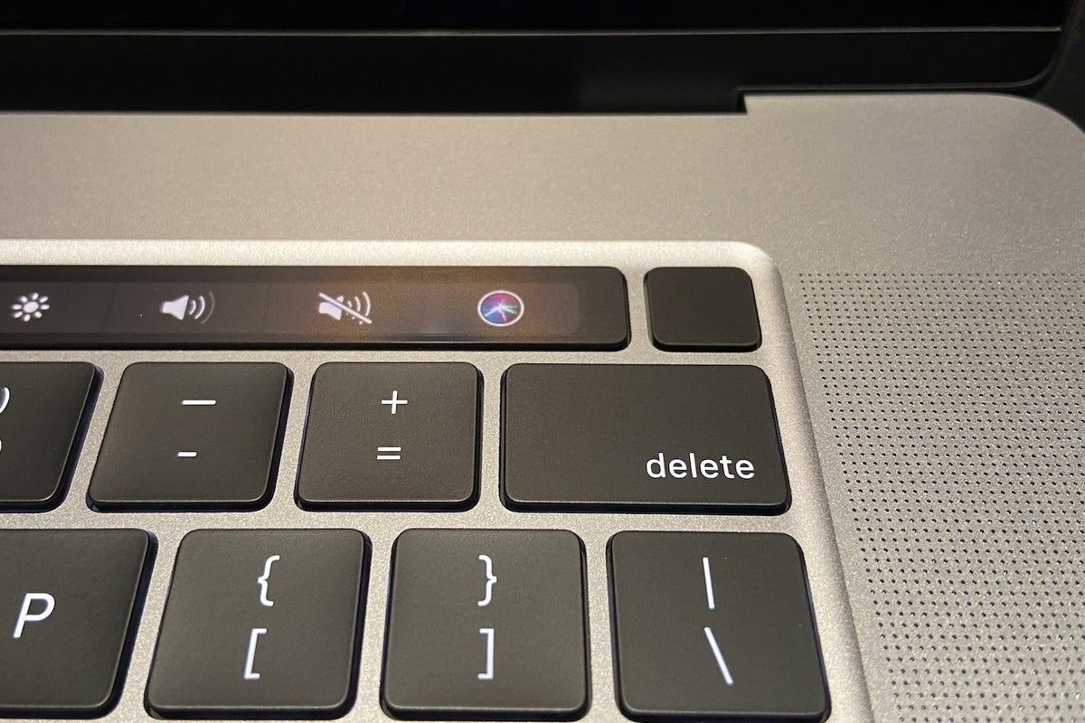 Bouton tactile MacBook Pro 16 pouces