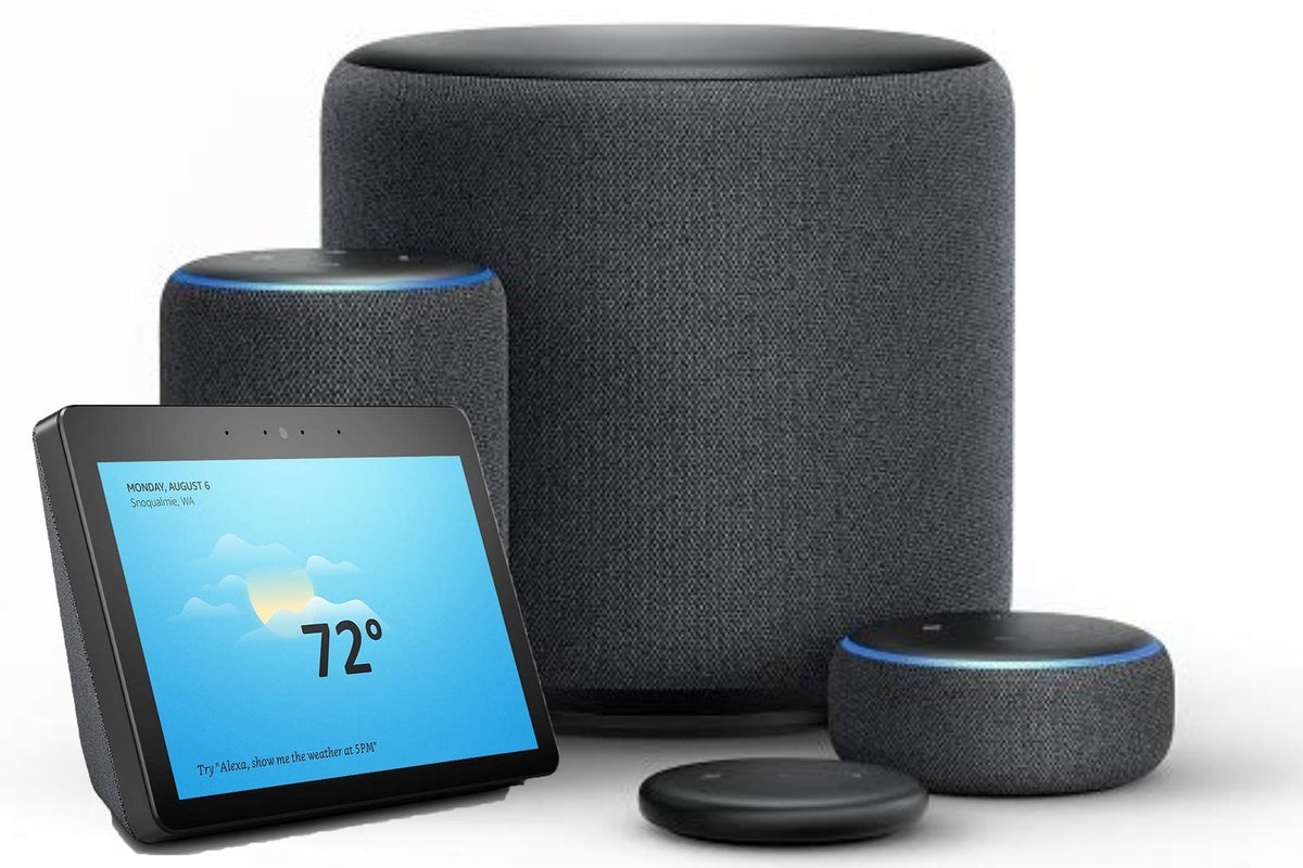 which echo should i get a buyer s guide for amazon s dizzying array of echo devices techhive. Black Bedroom Furniture Sets. Home Design Ideas