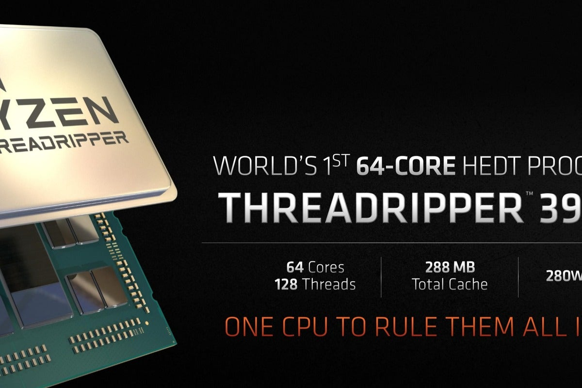 Amd S Monstrous 64 Core Threadripper 3990x How Much And How Fast It Will Be Pcworld