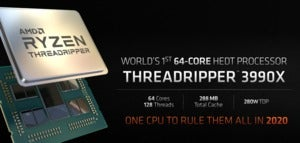 amd threadripper 64 core 3990x