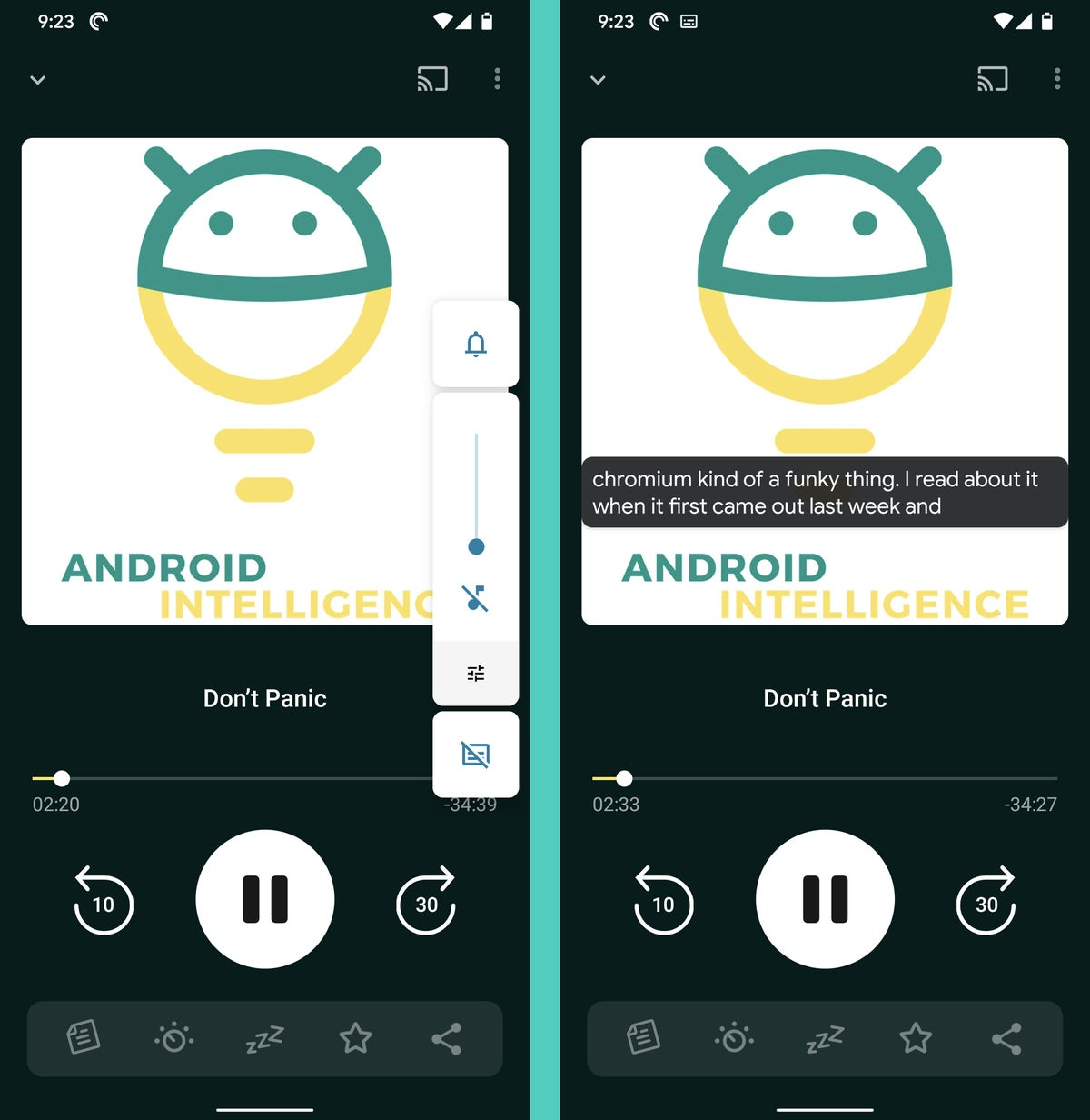 Subtítulo en vivo de Android 10 (1)