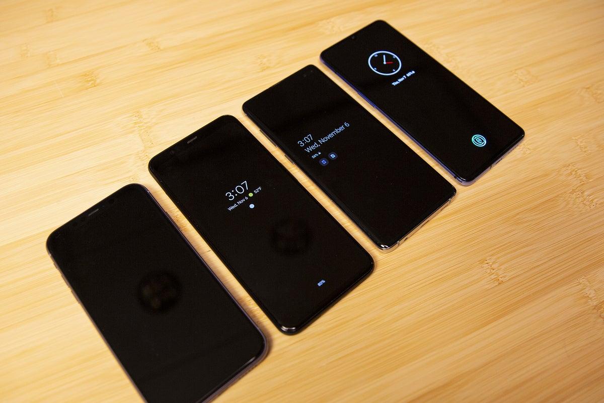 Android vs iPhone siempre encendido