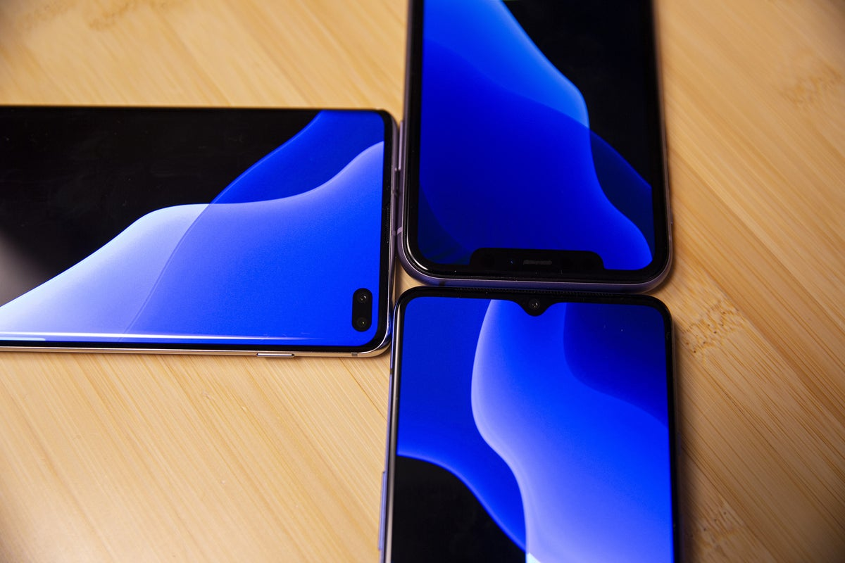 android vs iphone notch