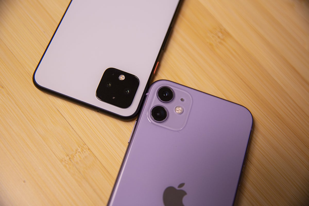 android vs iphone pixel camera