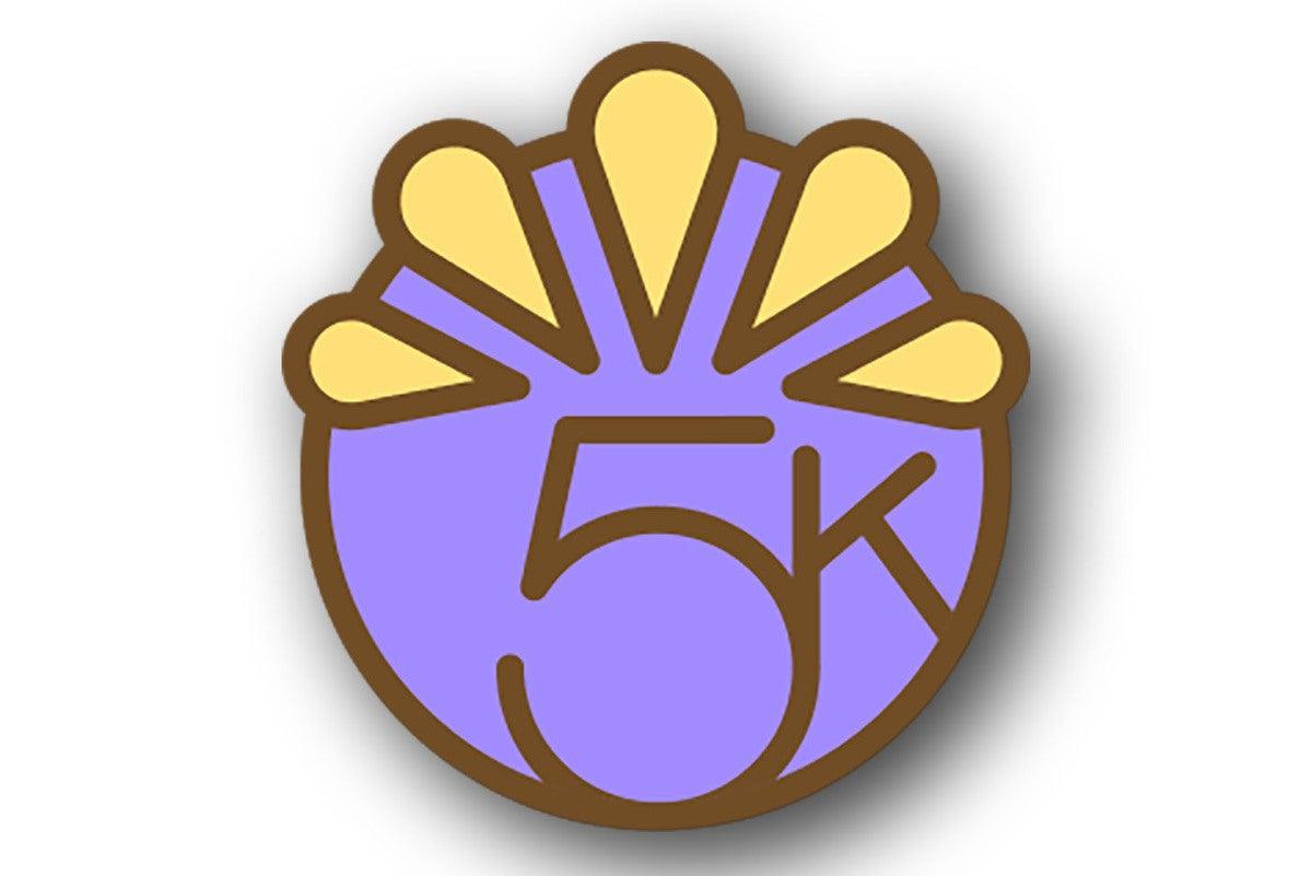 apple watch badge 5k thanksgiving