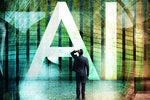 artificial intelligence ai ml machine learning abstract