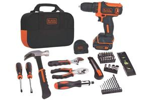 This Black+Decker home tool kit is $50, the cheapest it's ever been