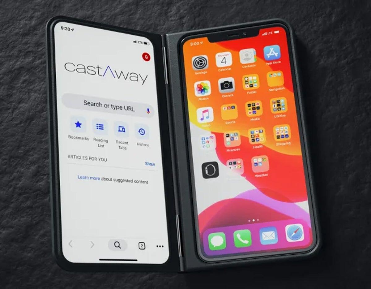Funda para teléfono CastAway Chrome OS