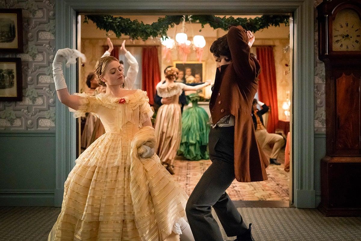 dickinson dancing