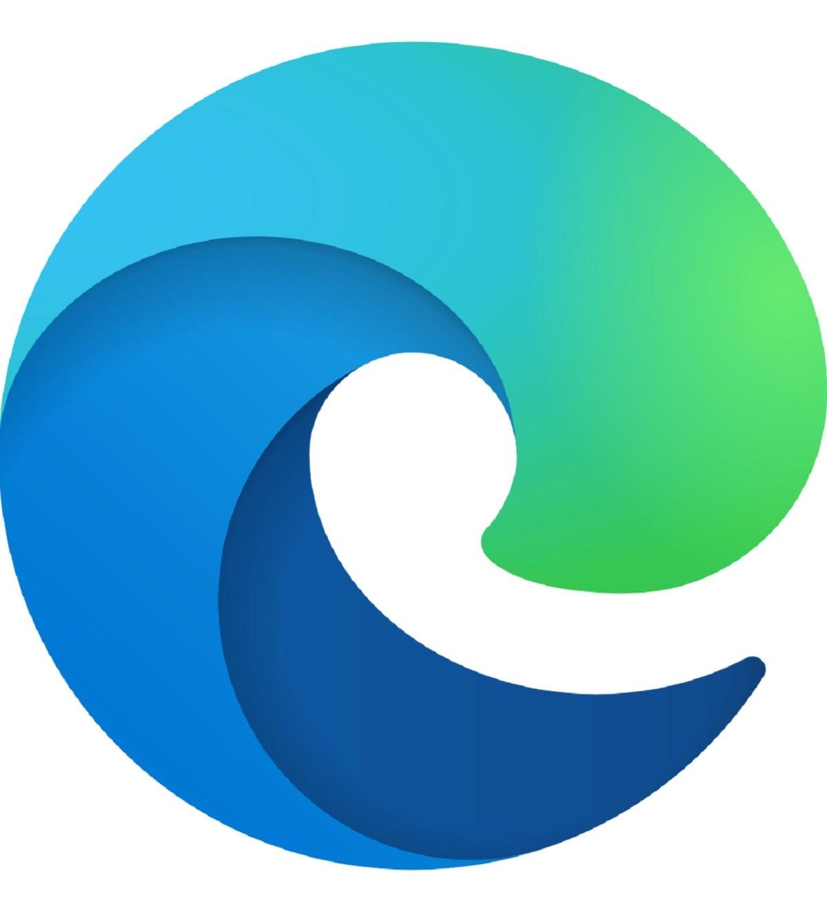 Microsoft edge icon larger