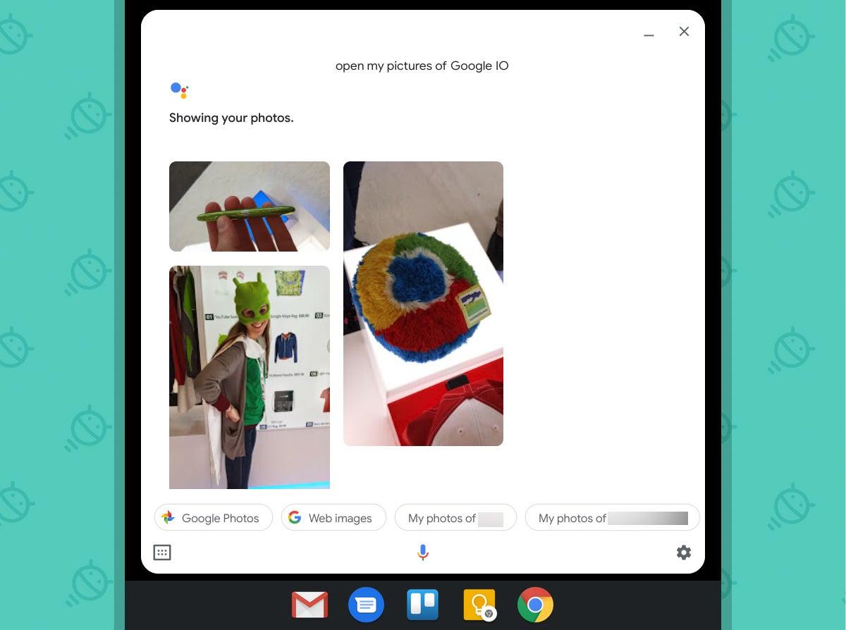 Asistente de Google Chromebook: Fotos