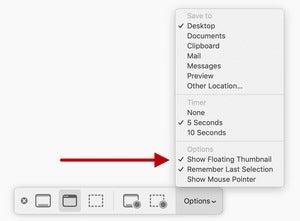 mac911 disable screencap floating