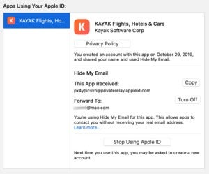 mac911 hide my email mac os manage