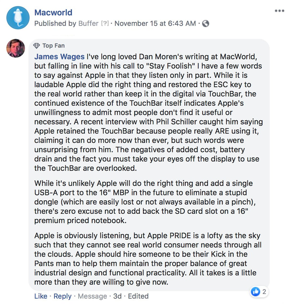 macworld podcast 676 wages