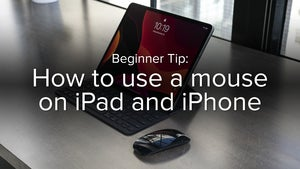 How to use a mouse on iPad