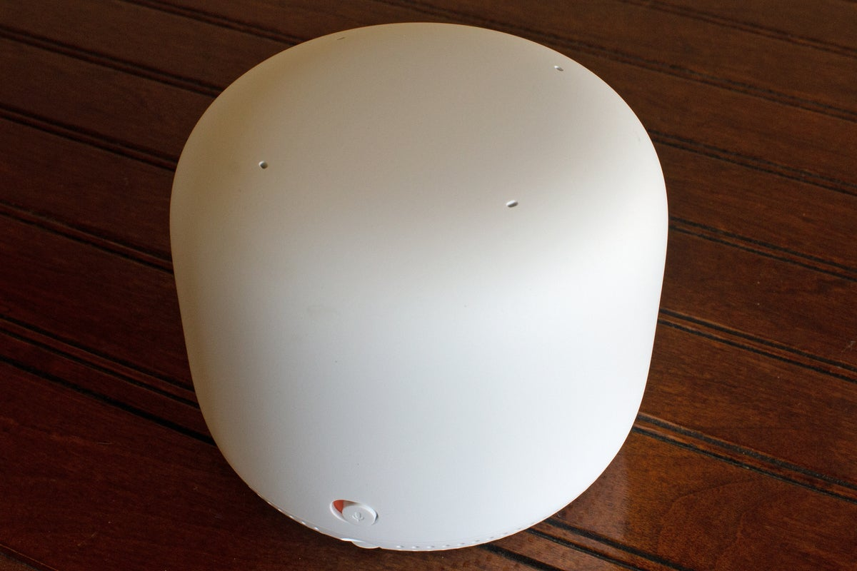 nest wifi point top and back