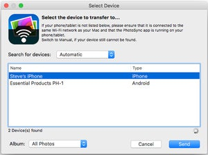 photosync 4.0 mac companion app