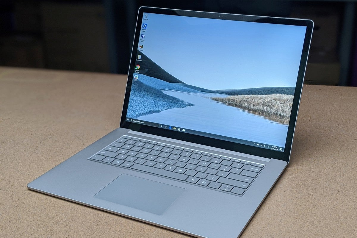 Microsoft Surface Laptop 3 15 Inch Core I7 Review This Is The One You Should Buy Pcworld