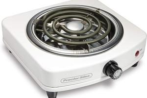 Need an extra burner? This Proctor Silex hot plate is just $13.49