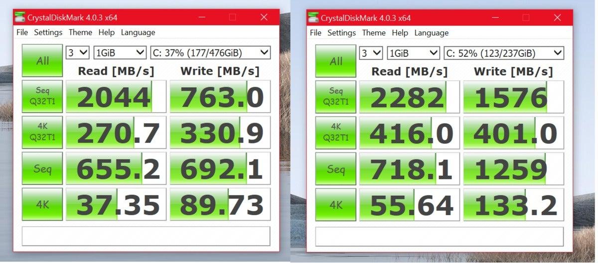 ssd speeds ryzen 7 v ice lake  Microsoft Surface Laptop 3 Ryzen 7 Surface Edition Intel Ice Lake Cor