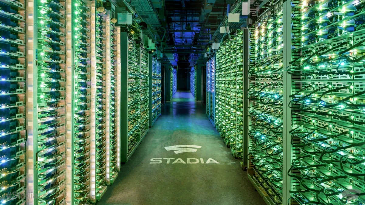Google Stadia - Data Center