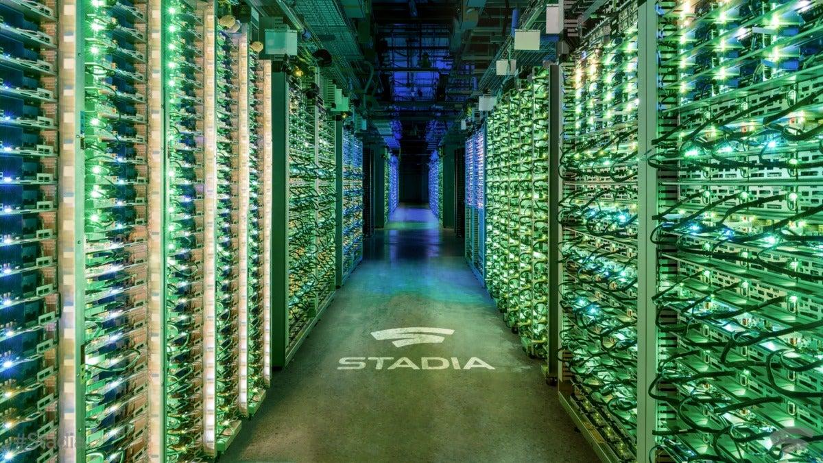 Google Stadia - Data Center