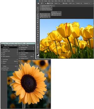 01 compare gimp vs photoshop selection tools