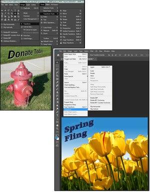 03 editing transform tools in gimp photoshop