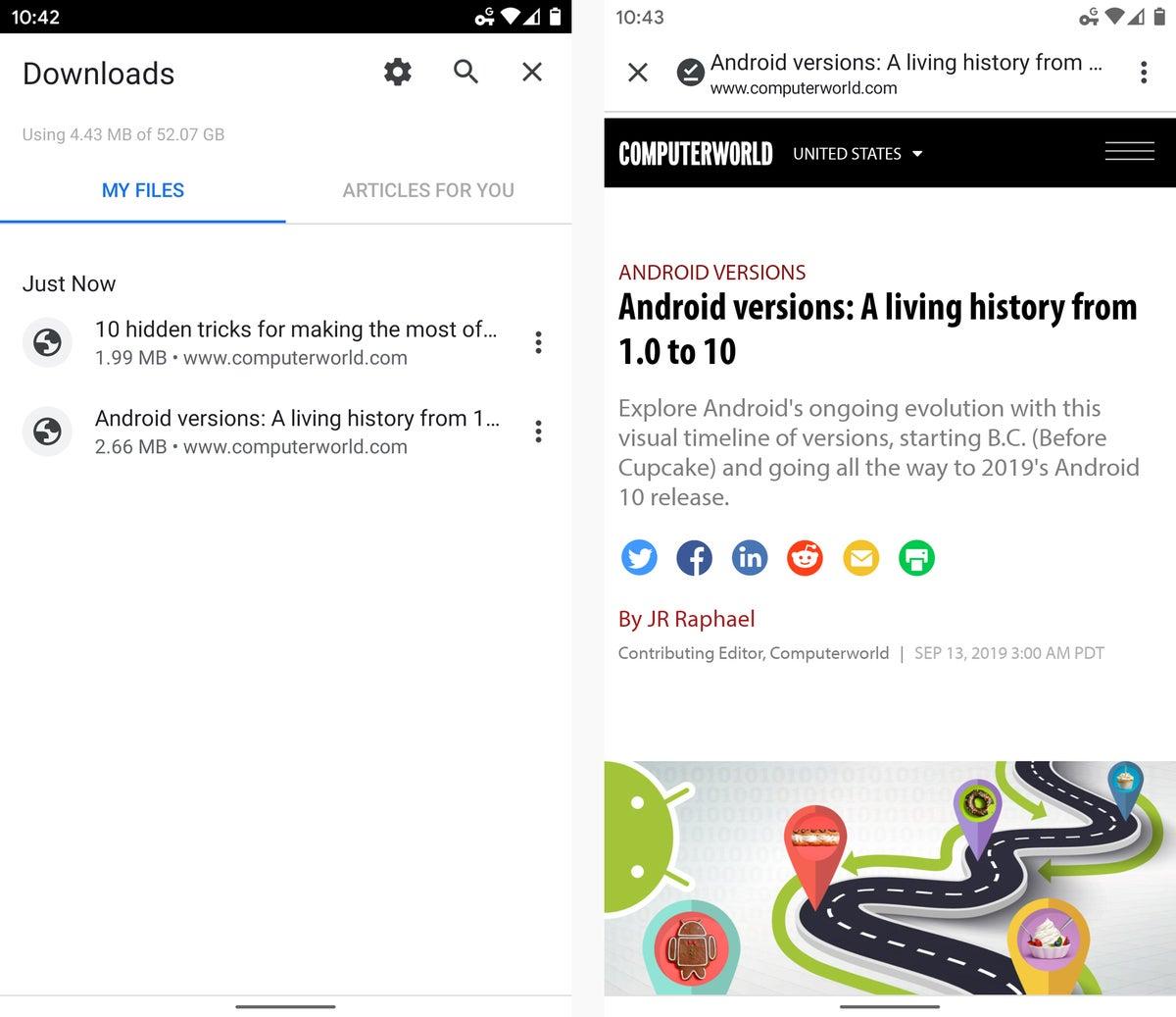 05 consejos de android chrome para leer sin conexión