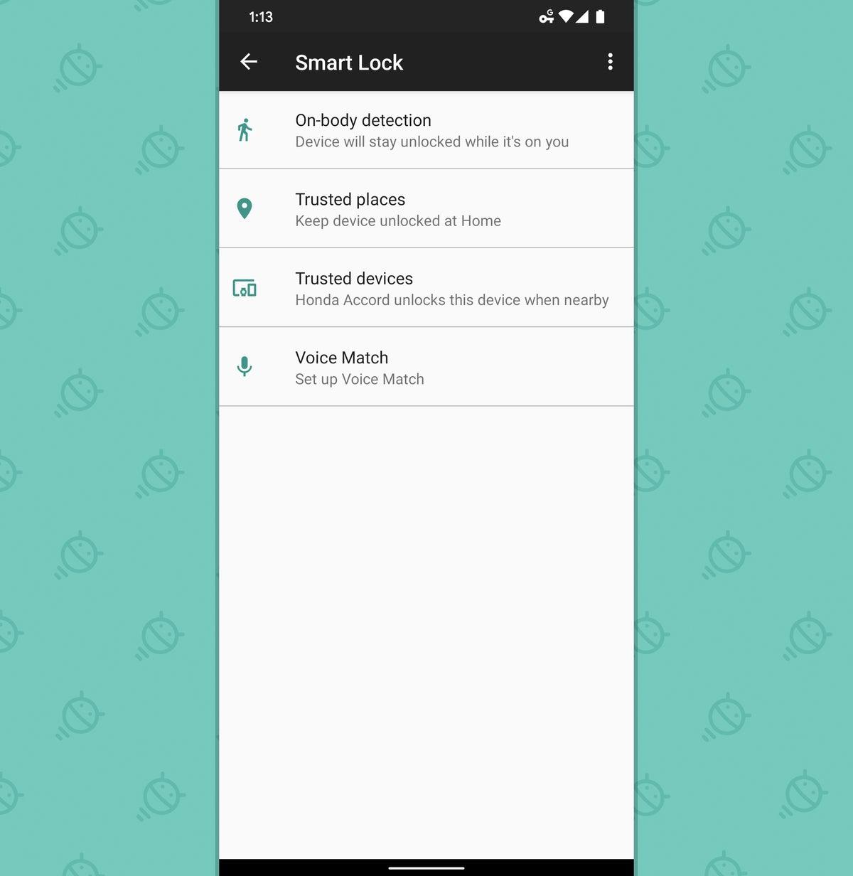 Auditoría de seguridad de Android: Smart Lock
