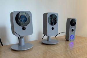 blue by adt indoor camera outdoor camera video doorbell