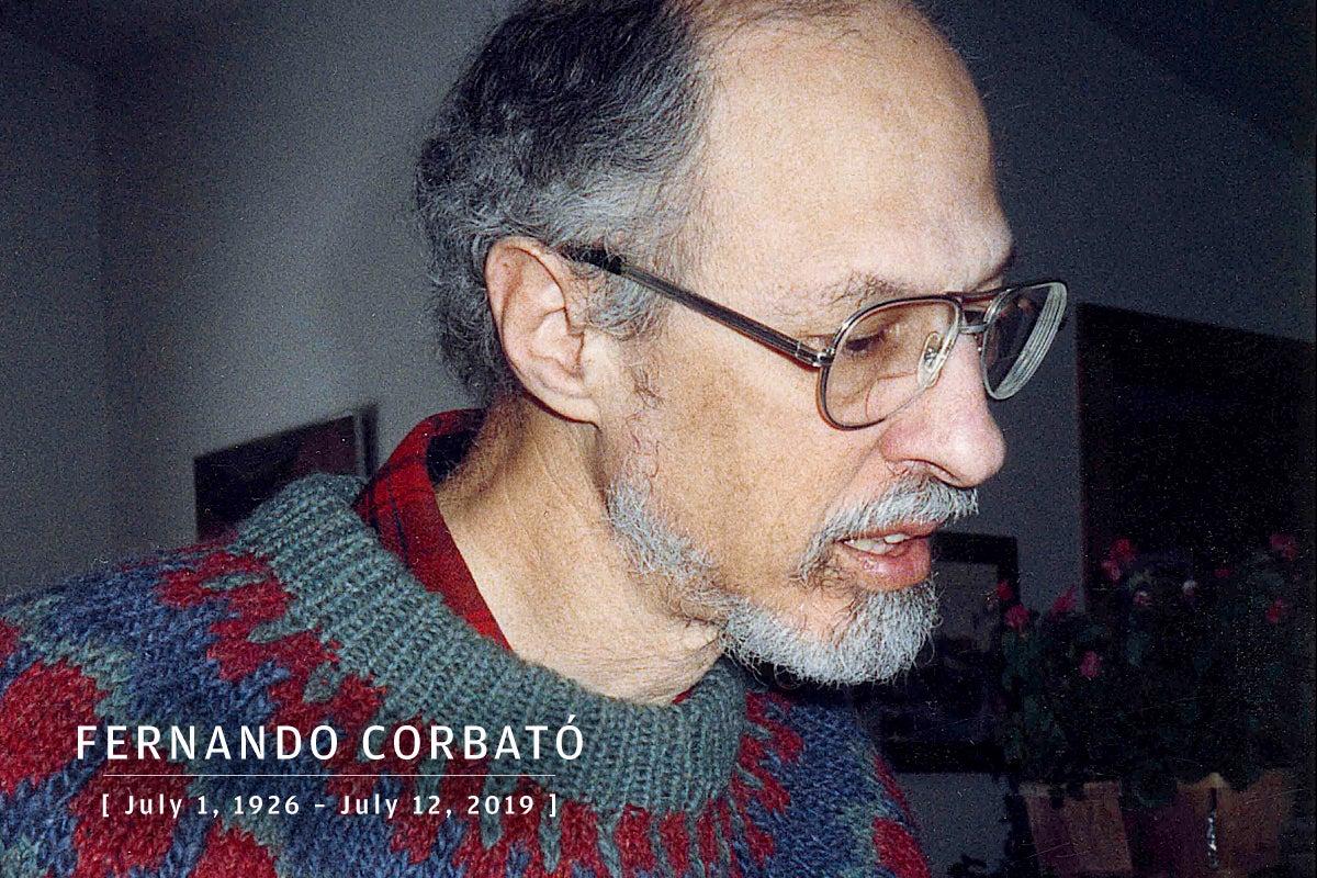 CW  >  In Memoriam 2019  >  Fernando Corbató