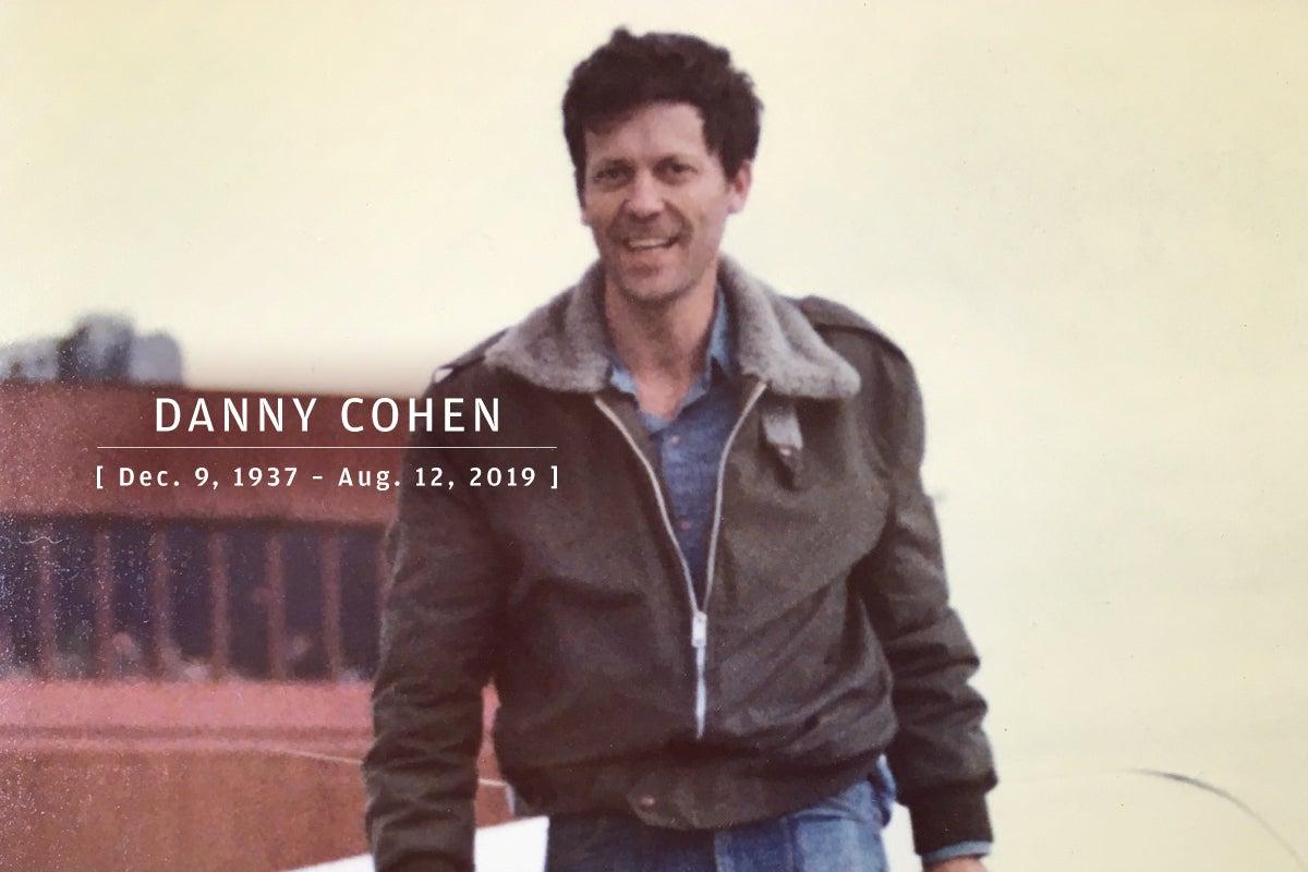 CW  >  In Memoriam 2019  >  Danny Cohen